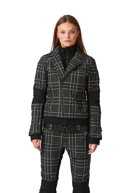SOS Sportswear of Sweden Skijacke WS DOLL JACKET deep forest tartan