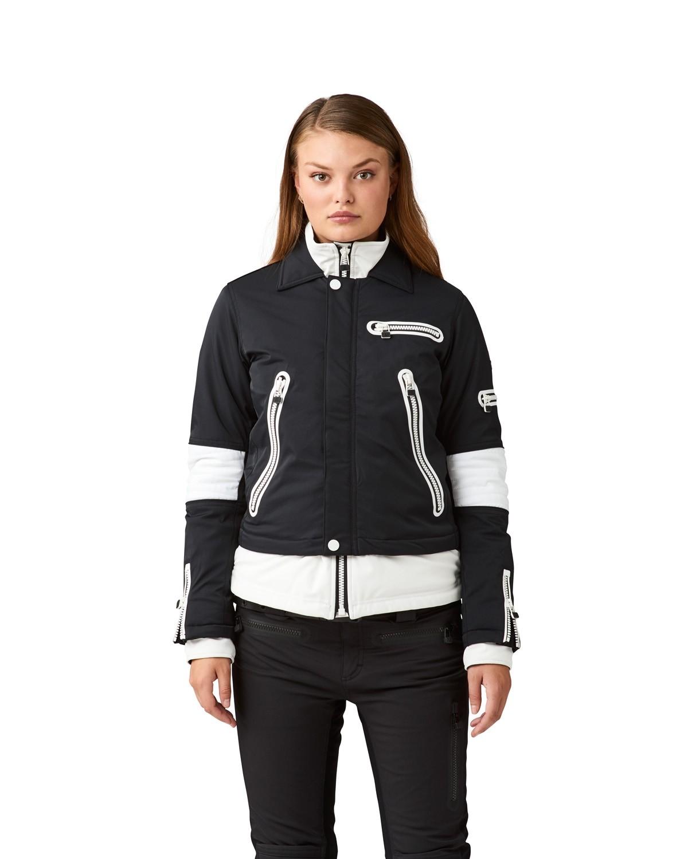 SOS WS Biker Jacket Black White