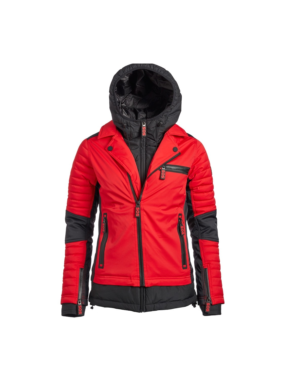 SOS Sportswear of Sweden Driss Jacket Racing Red