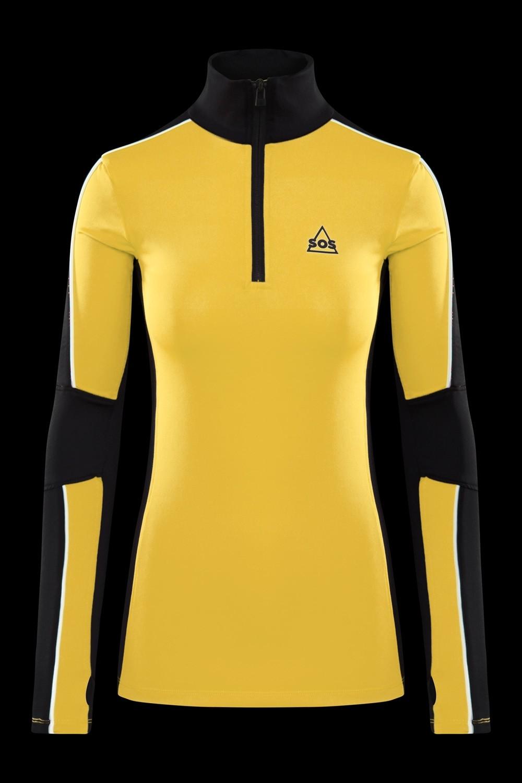 SOS Sportswear of Sweden WS Jaden L/S Pully Lemon