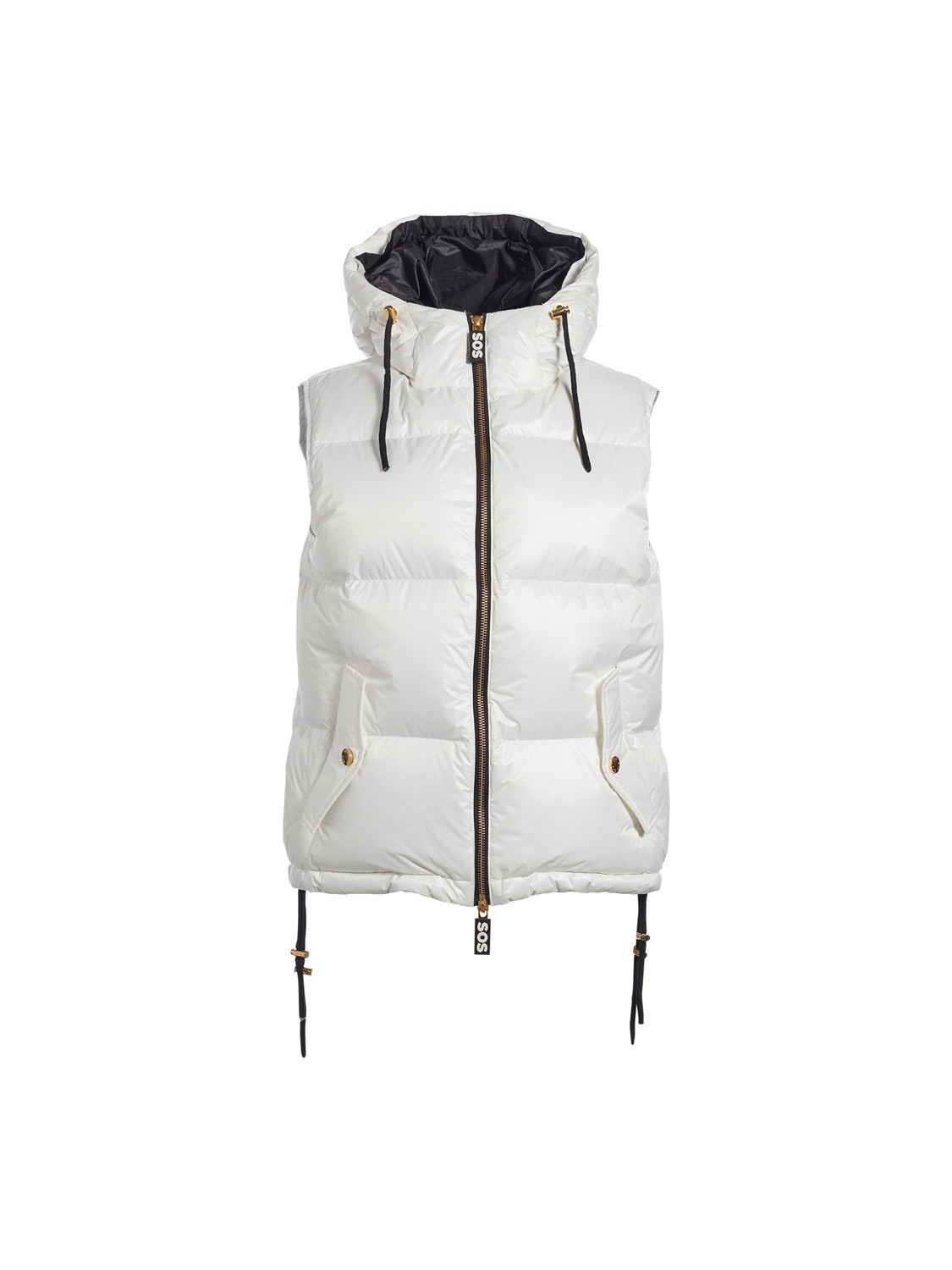 SOS Sportswear of Sweden WS Rose Down Vest White Cloud
