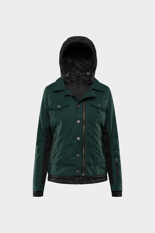 SOS Sportswear of Sweden Women Mica Jacket Green Pine