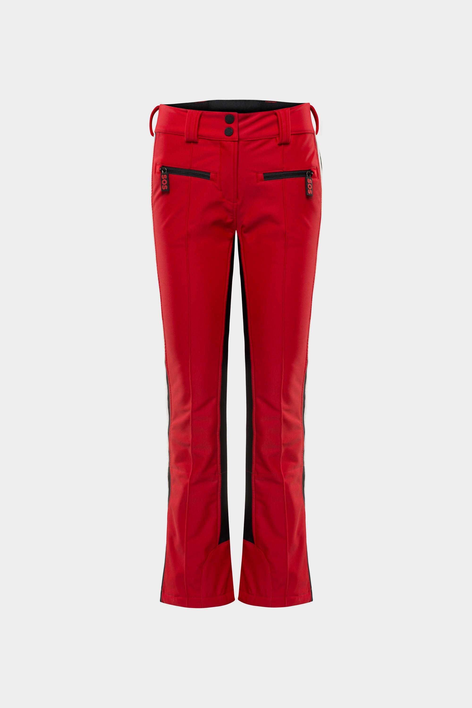 SOS Sportswear of Sweden Women Cat Ski Pants Racing Red