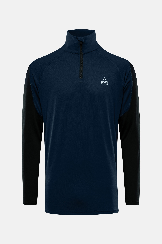 SOS Sportswear of Sweden Men Jaden Pully Dark Blue