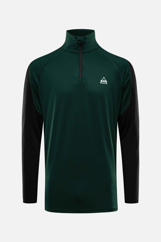 SOS Sportswear of Sweden Men Jaden Pully Green Pine