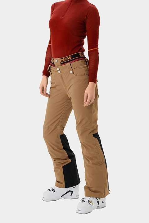 SOS Sportswear of Sweden Damen Skihose Emily Pants - Earth Brown