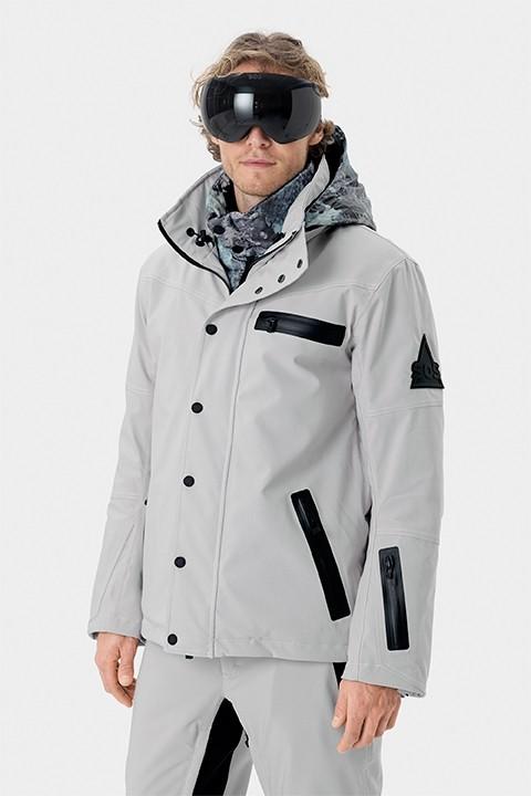 SOS Sportswear of Sweden Cooper Jacket - Silver Grey