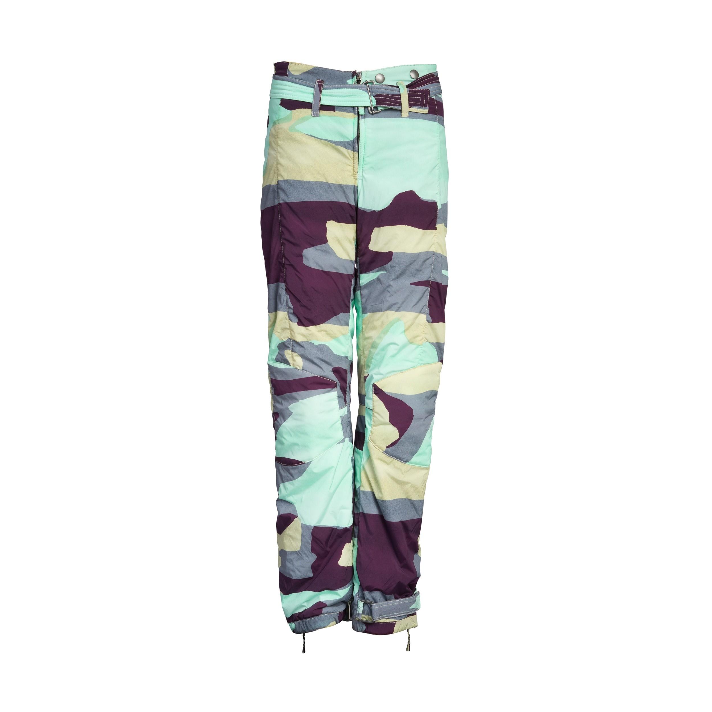 Jet Set Damen Skihose Aida Pant Print Womens Camouflage