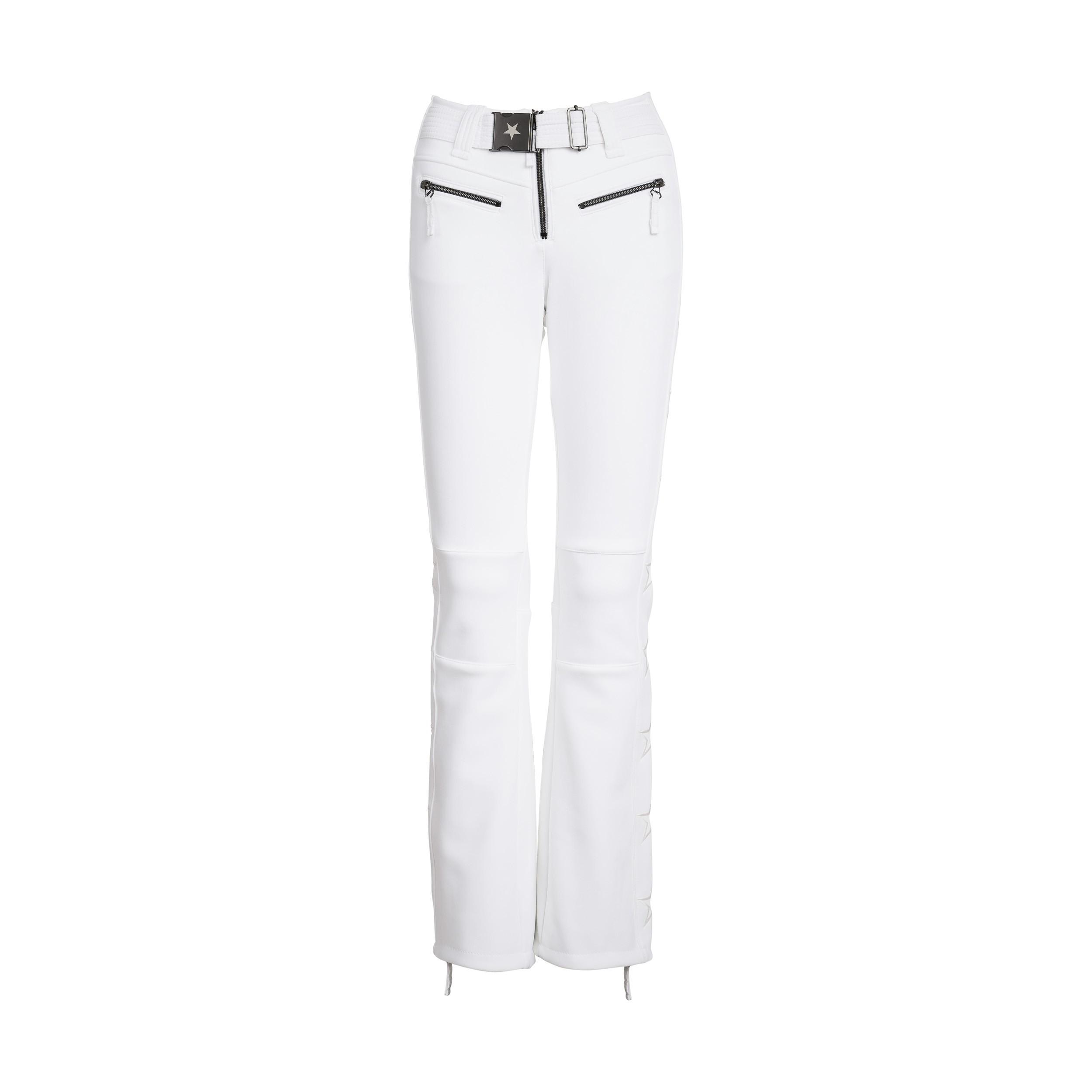 Jet Set Damen Skihose Tiby Uni Bright White