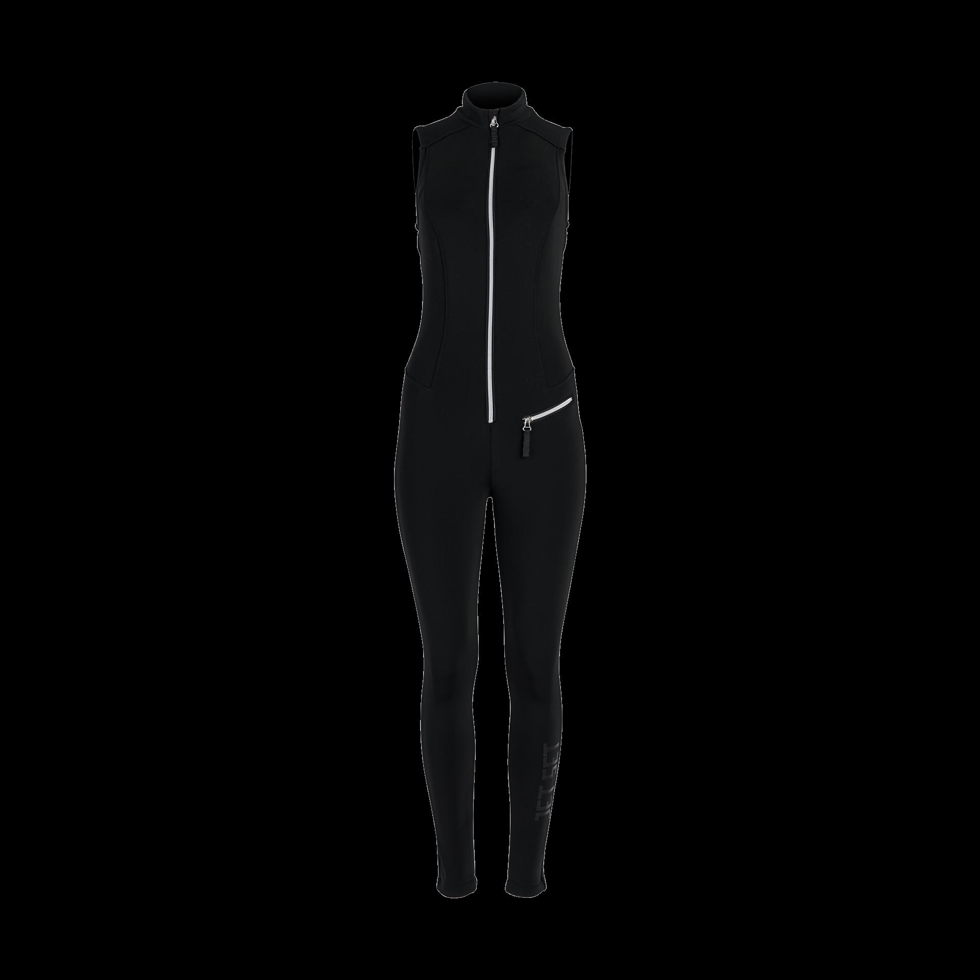 Jet Set Damen Overall Domina Black