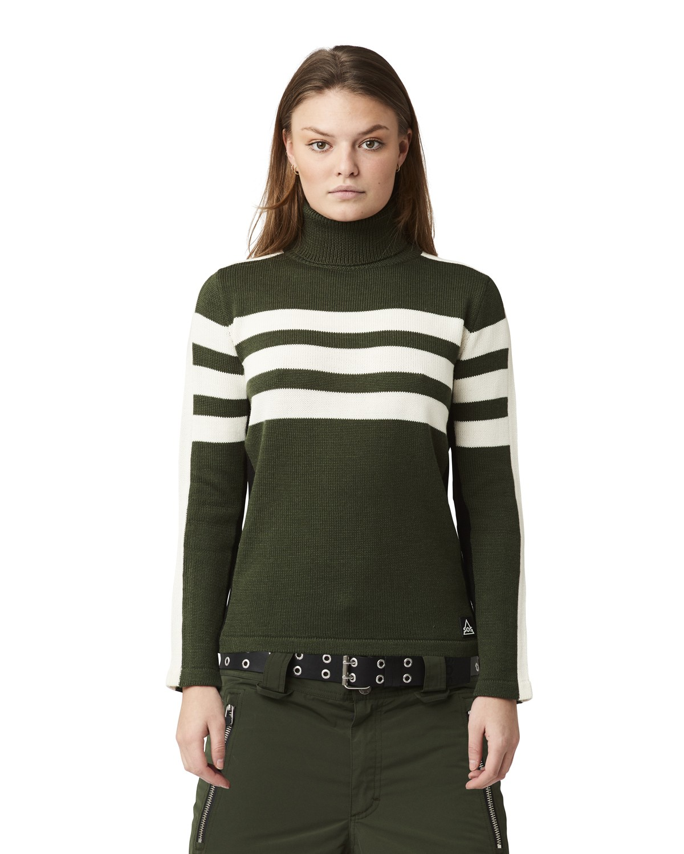 SOS Sportswear of Sweden Skipullover WS RACE KNIT green