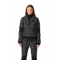SOS Sportswear of Sweden Skijacke WS DOLL JACKET deep forest tartan