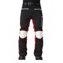 SOS Sportswear of Sweden Skihose MS Biker Pants Black Red