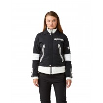 SOS WS Biker Jacket Black White
