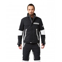 SOS MS Biker Jacket Black White