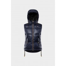 SOS Sportswear of Sweden Women Rose Down Vest Dark Blue