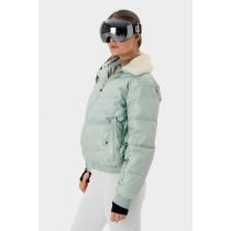 SOS Sportswear of Sweden Damen Skijacke ADA Down Jacket - Silt Green
