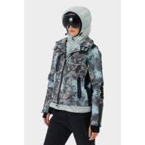 SOS Sportswear of Sweden Dolitta Jacket - Silt Green Pilot Print