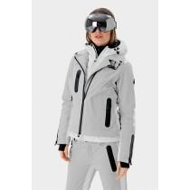SOS Sportswear of Sweden Damen Skijacke Dollita Jacket - Silver Grey