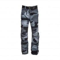 Jet Set Herren Skihose Mercruiser Print Grey-Black Camouflage