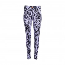 Womens Ski Underware Pants Dualtime Tiger Print Thistle
