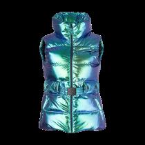 Jet Set Belted Ski Vest Multifoil