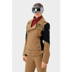 SOS Sportswear of Sweden Damen Skijacke Emily Jacket - Earth Brown